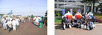エコちゃんサンちゃんの写真