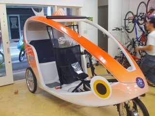 鯛車ベロタクシー